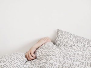 Good sleep is essential for stress relief